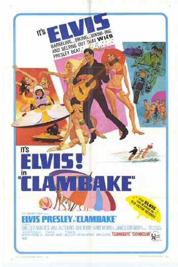 Elvis Clambake movie poster